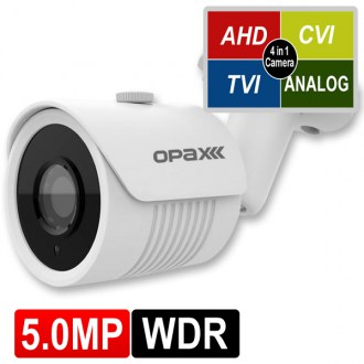 OPAX-1113 5 MP (2592x1944) 4 in 1 HD 3.6mm Lens 2 Smart LED AHD Bullet Kamera