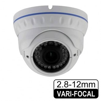 CA-248 2.4 MP 2.8-12 MM Varifocal Lens 36 IR LED IP Dome Kamera
