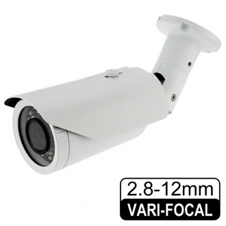 CA-605 1.3 MP 2.8-12 MM Varifocal Lens 30 SMART IR LED WDR IP Sesli Kamera