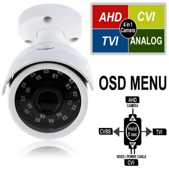AHD / CVI / TVI / CVBS Video Çıkış Modu