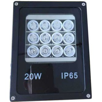 OPAX 45-60 Derece 90m 12 Led Spot Array Illuminator