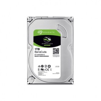 1 TB 3,5'' SEAGATE BARRACUDA HDD 7200 RPM SATA 3 64MB ST1000DM010