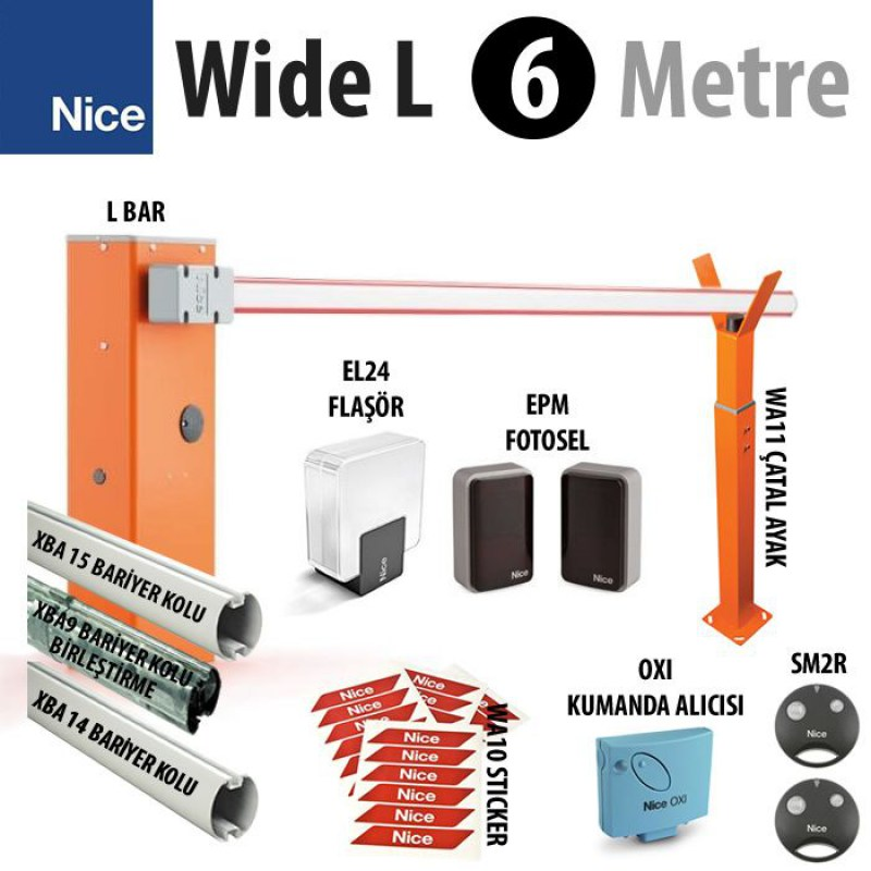 Wide L 6 Metre Bariyer-1