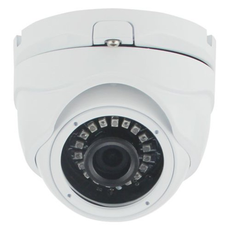 OPAX-417 2.4 MP 3,6 MM AHD/TVI/CVI/CVBS Sony 18 Smart IR Led OSD Menü AHD Dome Kamera