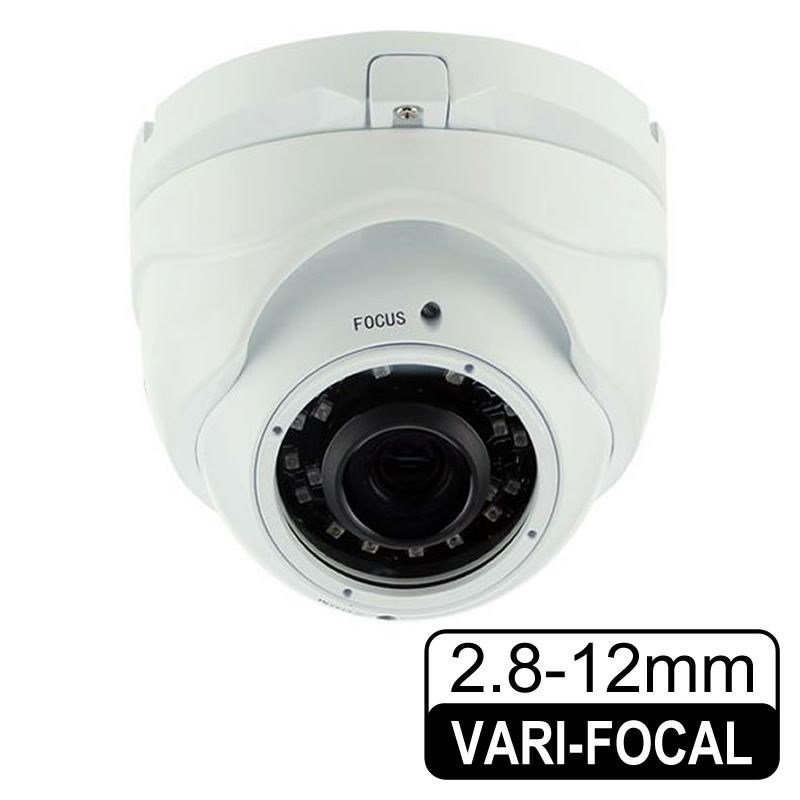 OPAX-420 2.4 MP 2.8-12 MM Varifocal AHD/TVI/CVI/CVBS Sony 24 Smart IR Led OSD Menü AHD Dome Kamera